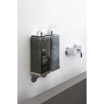 Dispenser doppio a muro