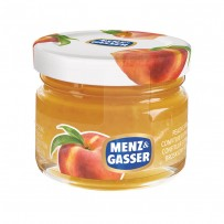 Marmellata Monodose in vetro Menz & Gasser alla Pesca